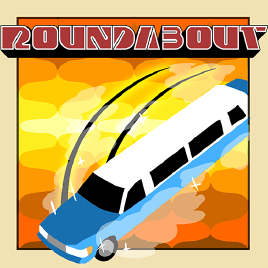Logo for the game 'Roundabout'