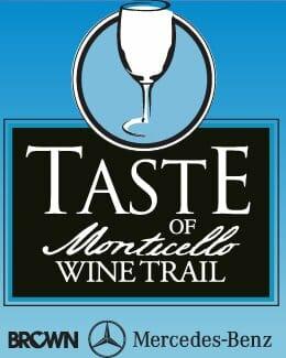 Taste of Monticello Wine Trail Festival logo